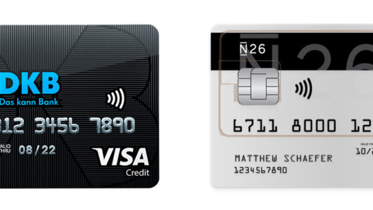 Auslandsgebühren verschiedener Kreditkarten-Anbieter im Vergleich